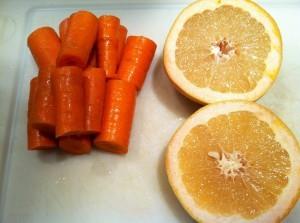 gambar manfaat buah wortel di campur  buah jeruk image
