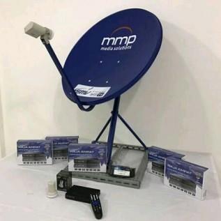 Jual tv channel satelit gratis iuran bulanan