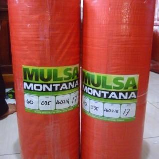 Jual Mulsa Plastik Hitam Perak Merk Montana High Quality