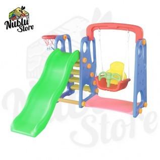 Jual perosotan ayunan dan ring bola mini indoor outdoor