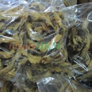 Jual keripik belut gurih dan renyah cocok tuk hidangan keluarga