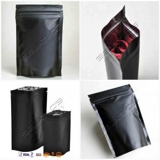 Jual stand pouch ziplock full aluminium