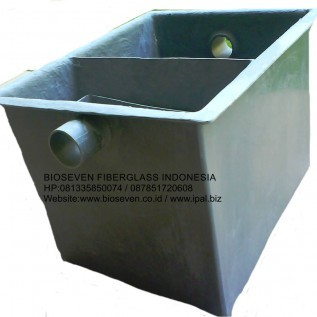 Jual bioseven greasetrap fiberglass