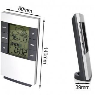 Digital Multifungsi Hygrometer | Thermometer | Kalender | Jam + Alarm