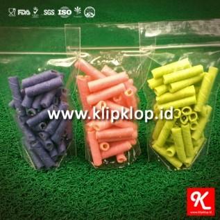 Jual 10x17cm plastik kemasan berdiri + klip (stand up pouch + zipper lock) - minim order 4paket