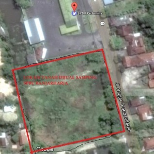 Dijual Tanah 1 Hektar Samping SPBU Jl. Banjar-Pangandaran