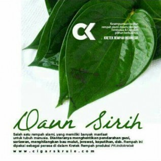 kerjasama ck(rokok herbal)rempah-rempah