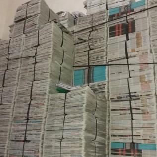 Jual koran bekas
