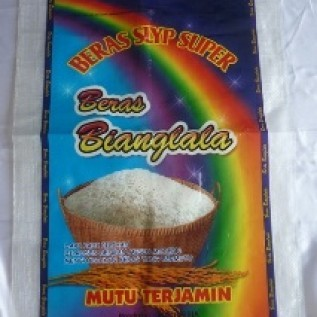 Jual karung beras laminasi