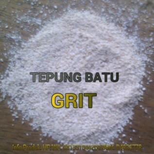 Jual tepung batu grit