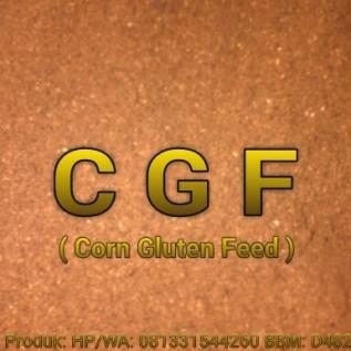 Jual cgf -  corn gluten feed