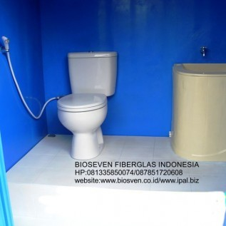 Jual bioseven portable toilet