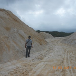 Jual pasir kuarsa / silica
