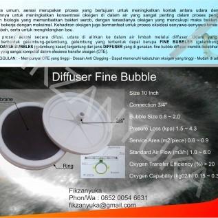 diffuser fine bubble 10 inch